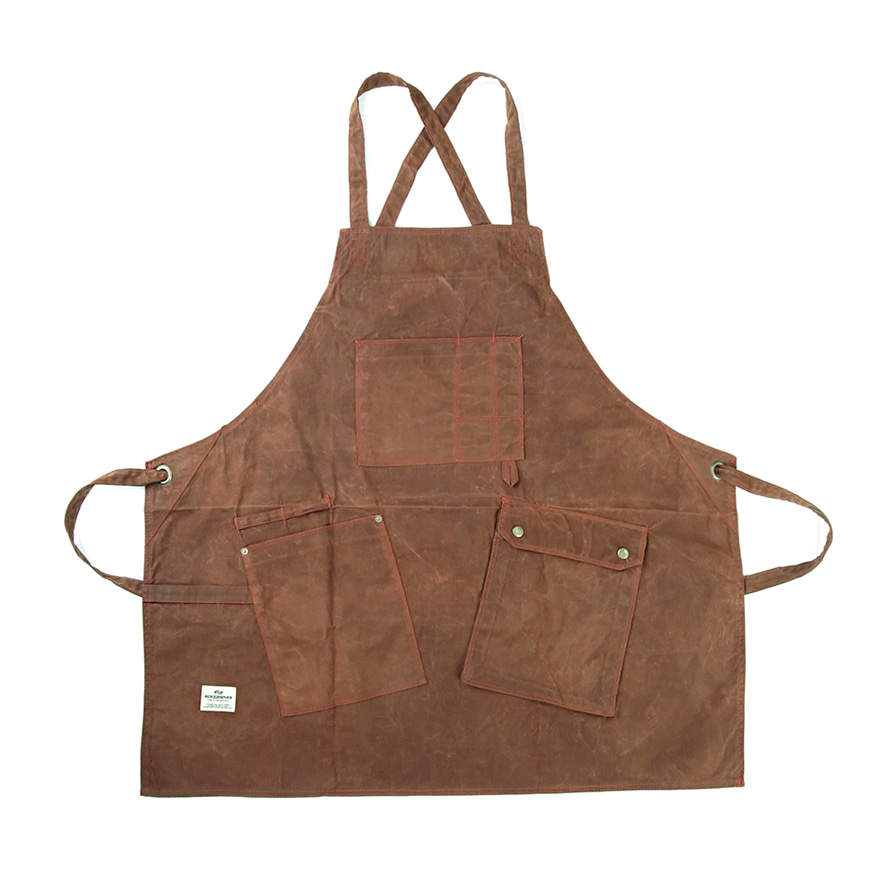 Work Apron 1006 - Waxed Brown