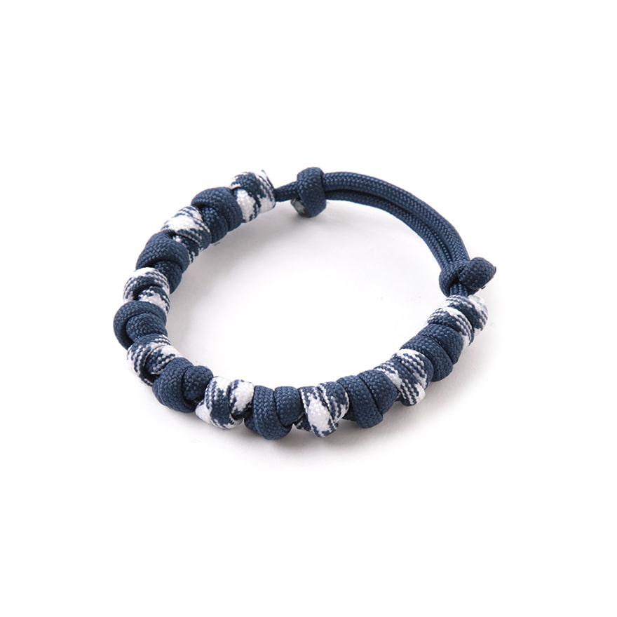 Love Tie Bracelet - Navy White