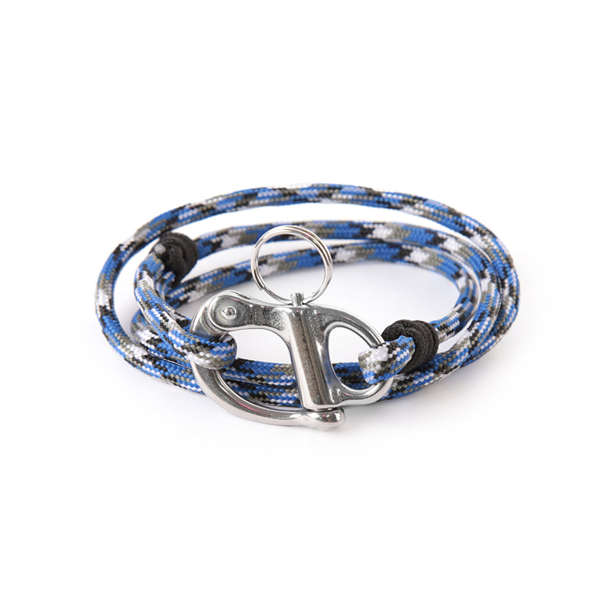 Hangman Bracelet - Blue Camo