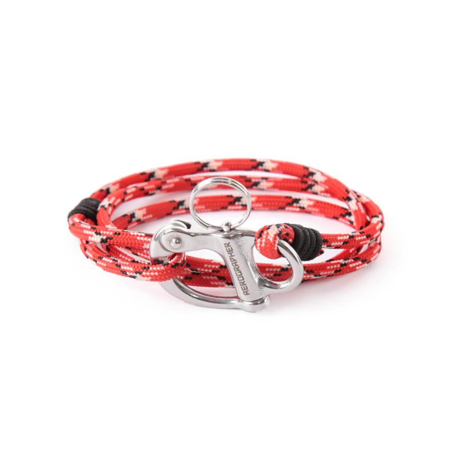 Hangman Bracelet - Red Camo