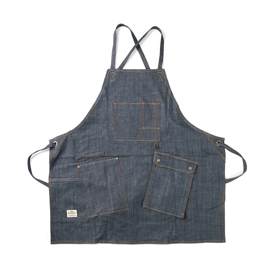 Work Apron 1006 - Indigo Denim