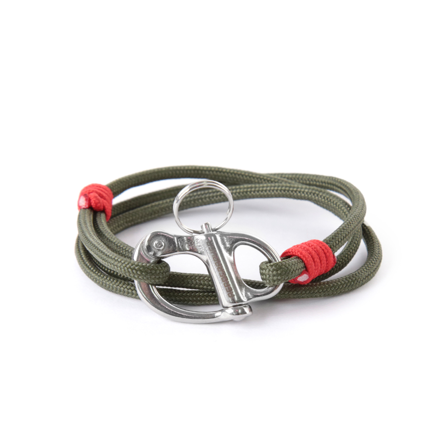 Hangman Bracelet - Olive