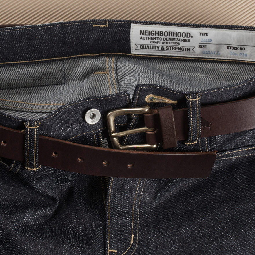 No.1 Belt - Brown