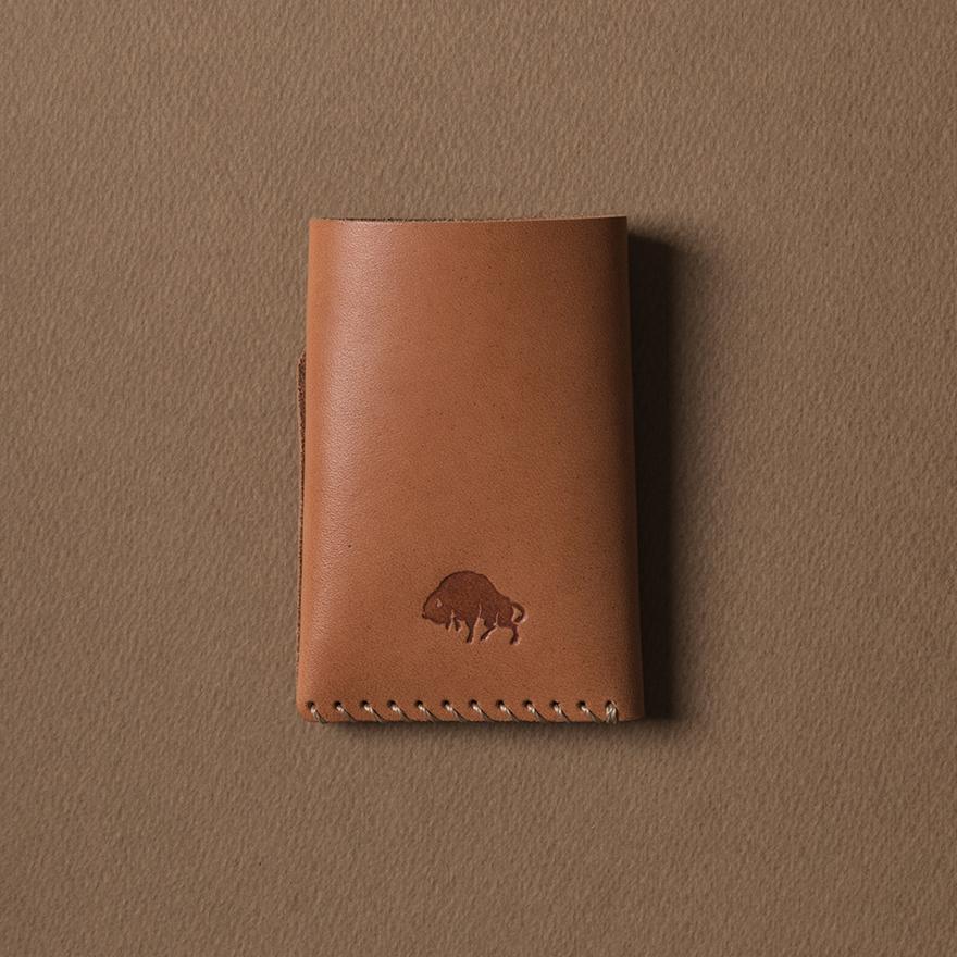 No.2 Wallet - Golden tan