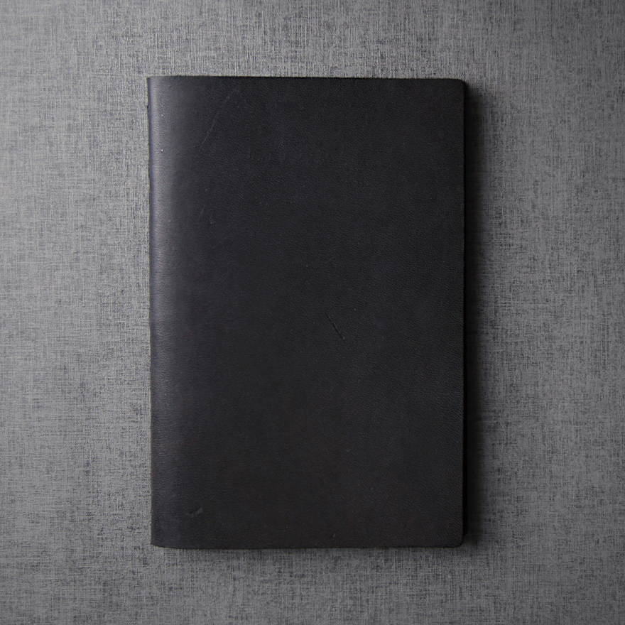 Large Notebook - Jet Black