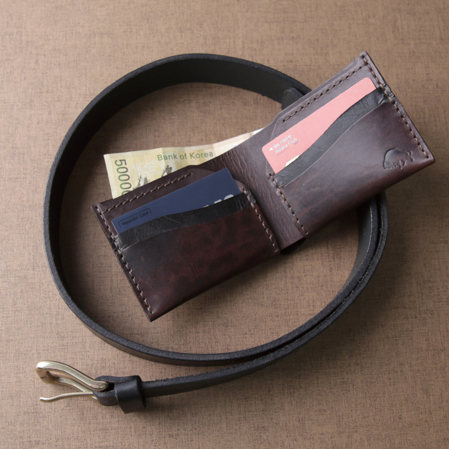 [SET] No.1 Belt & No.6 Wallet