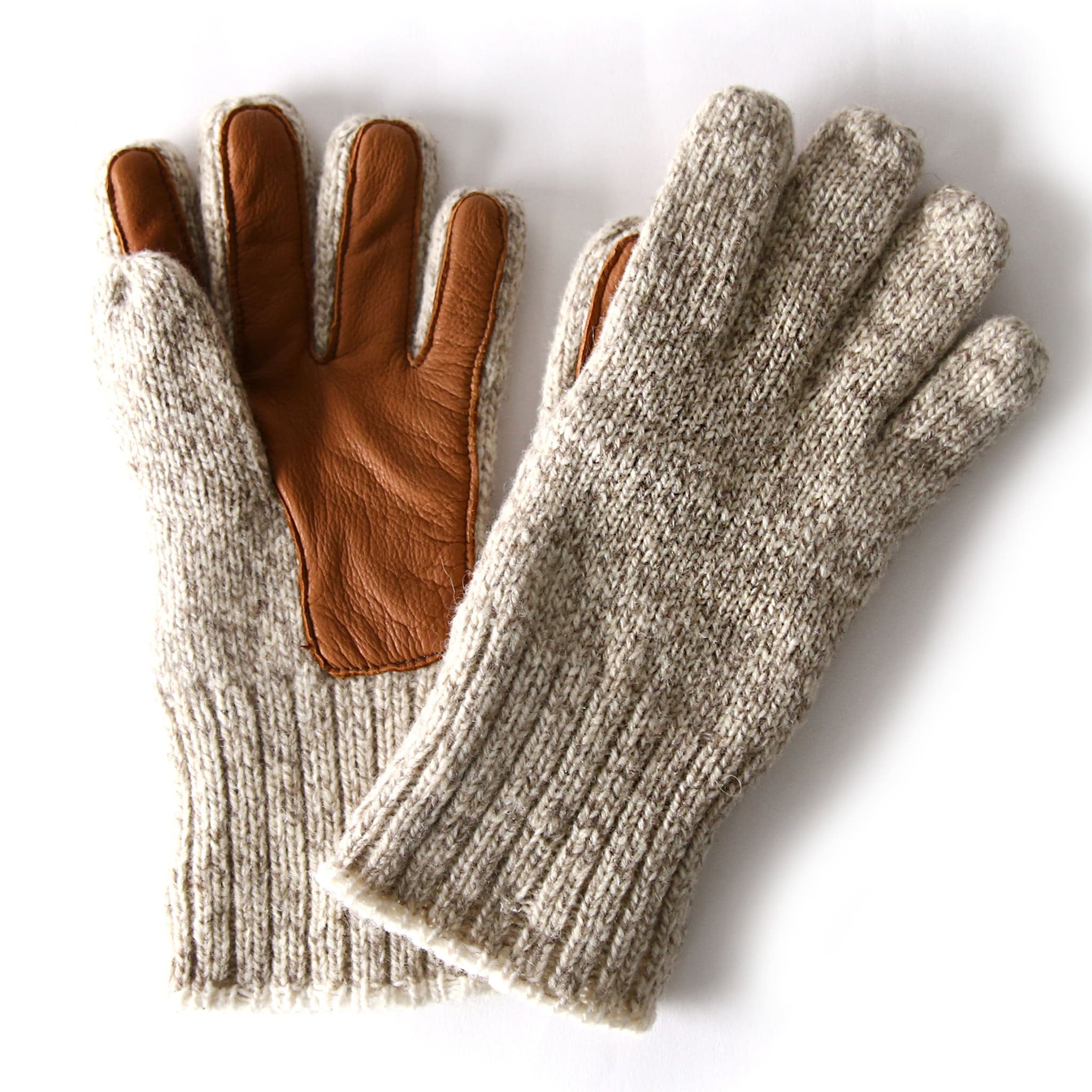 Four Layer Glove - Brown Tweed
