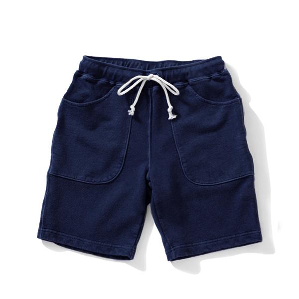 9oz Sweat Shorts - Indigo