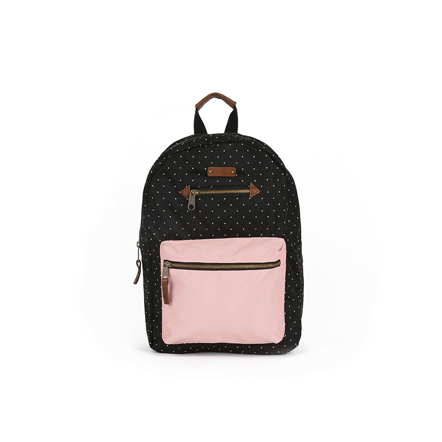 BLANCHE Backpack - Black/Pink