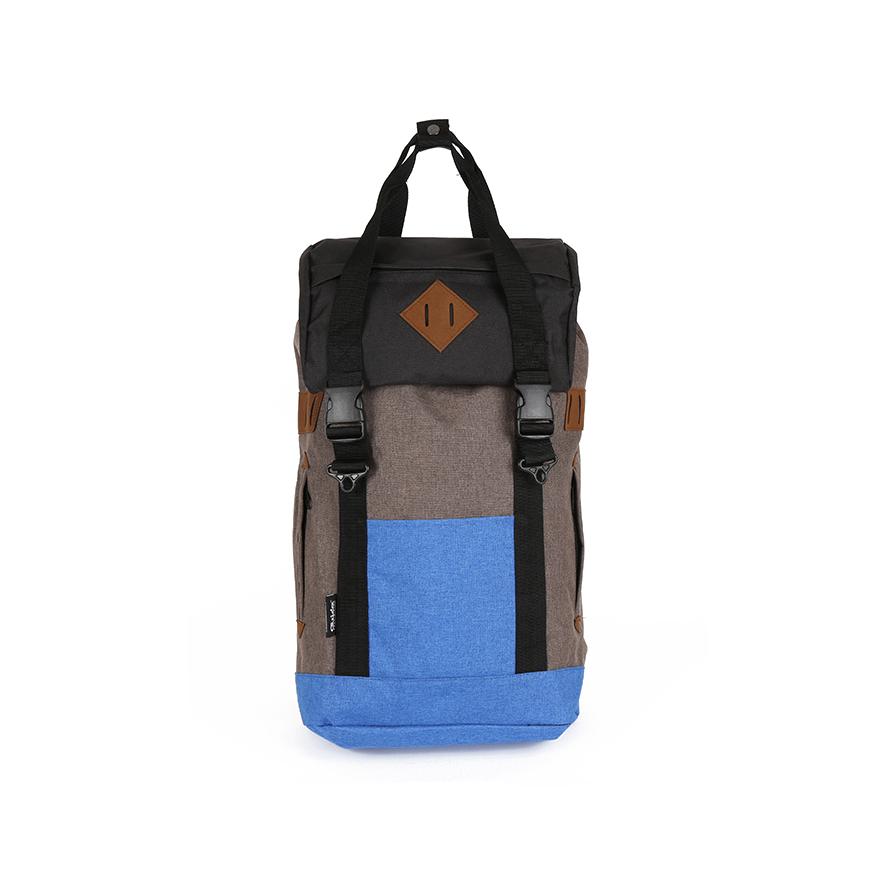 아서 백팩 M - 브라운/블루