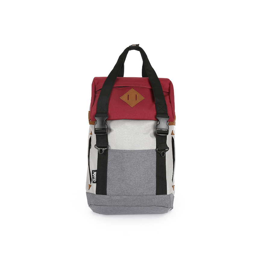 ARTHUR-S Backpack - Red/Grey
