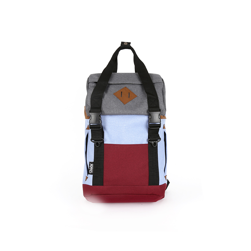 ARTHUR-S Backpack - Grey/Red