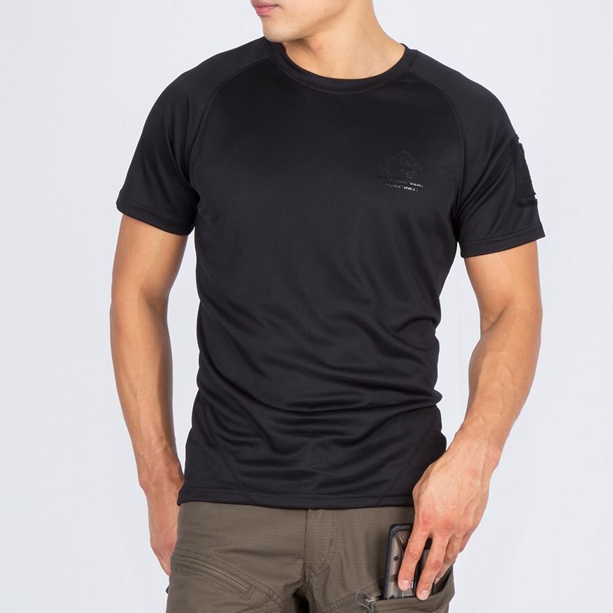 SOS 티셔츠 - 블랙