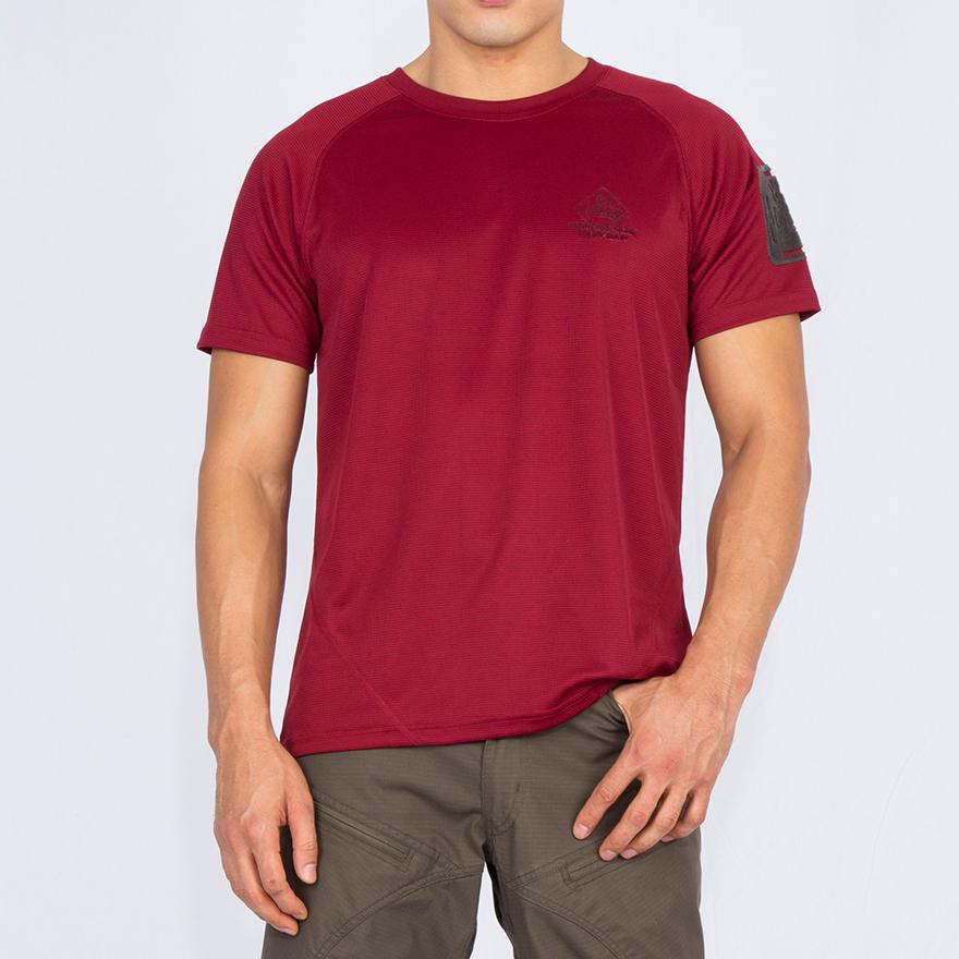 SOS 티셔츠 - 레드