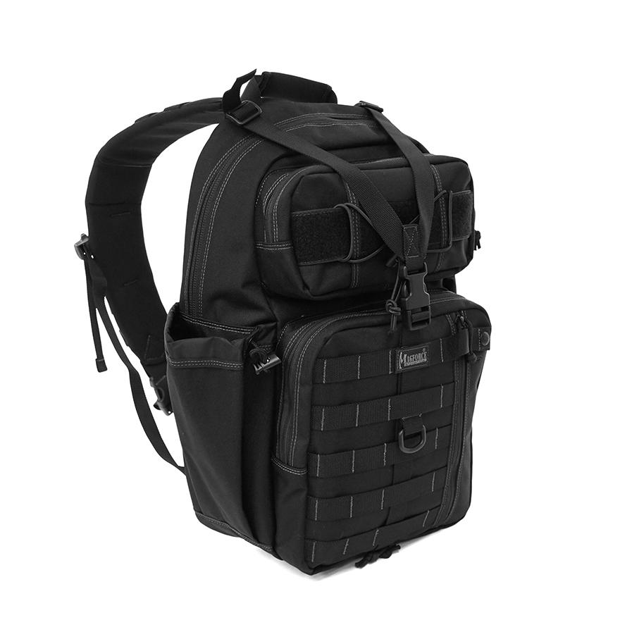Mega Transformer Sling Bag - Black
