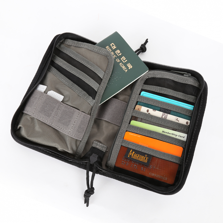 Passport Pouch - Black