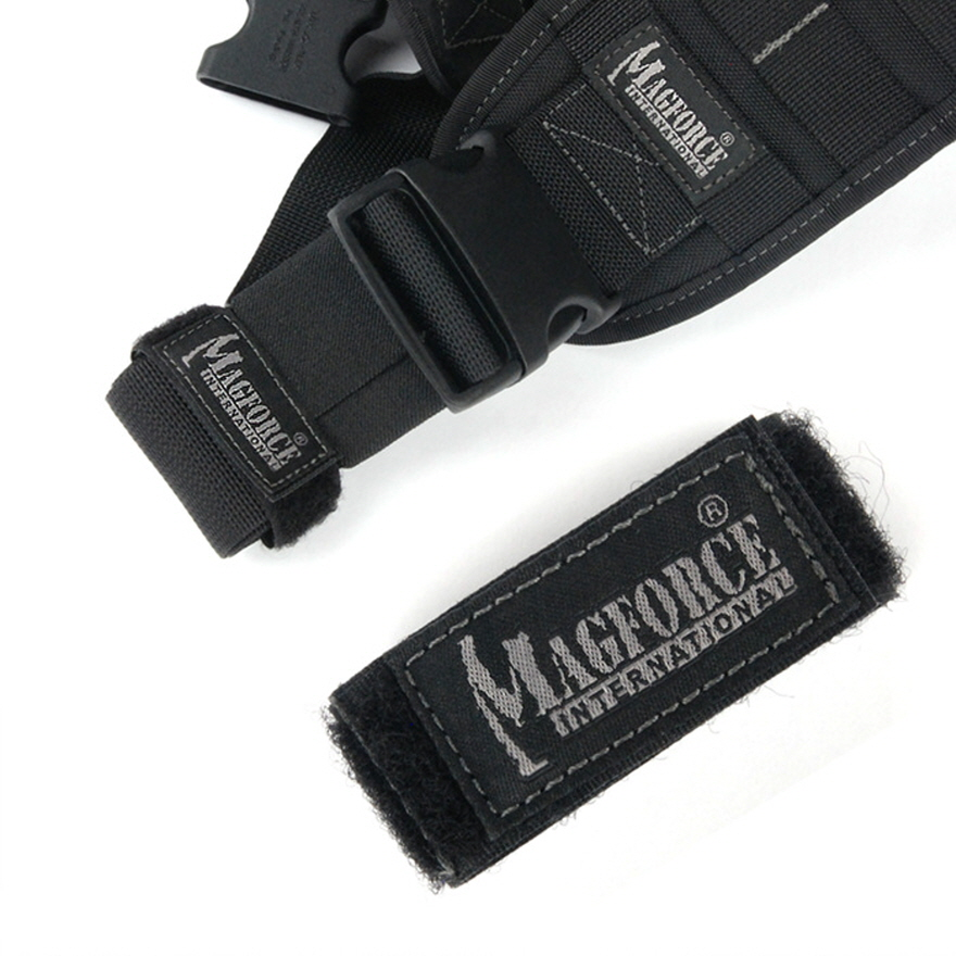 2 inch Strap Organizer - Black
