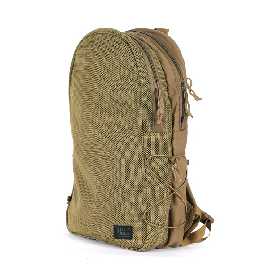Mesh Backpack - Coyote Brown