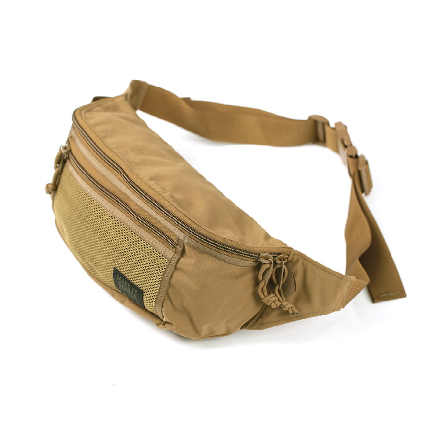 Mesh Waist Bag - Coyote Brown
