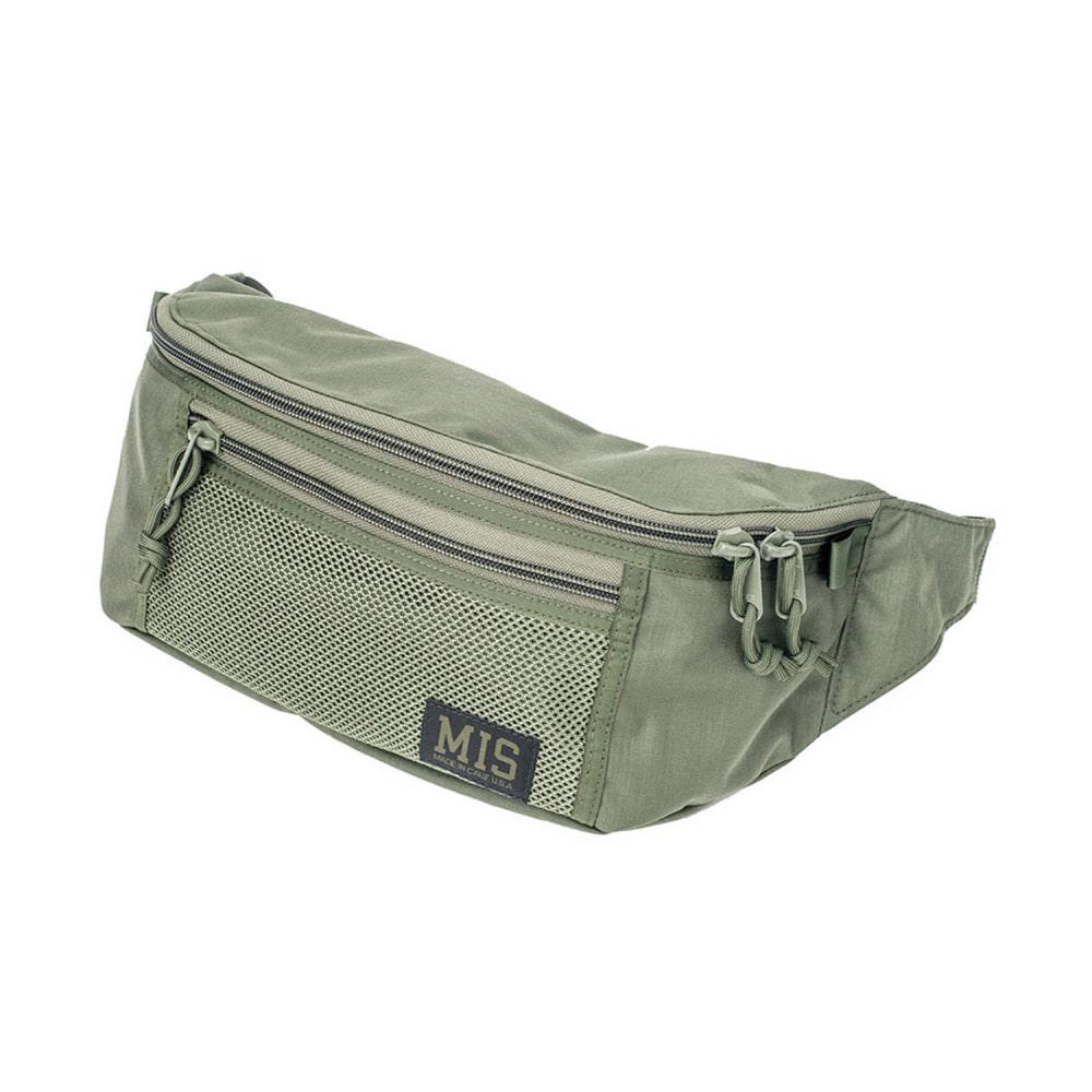 Mesh Waist Bag - Camo Green