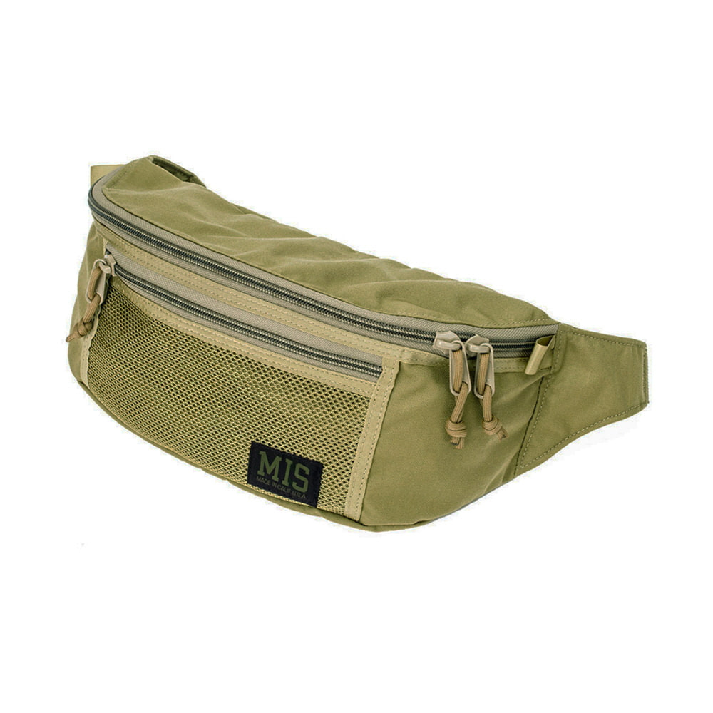 Mesh Waist Bag - Coyote Tan