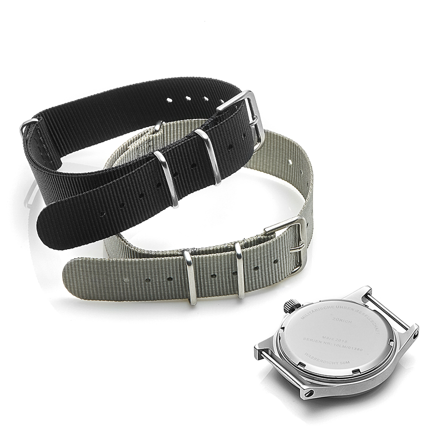 G10LM 12/24 Stainless Steel Military Watch