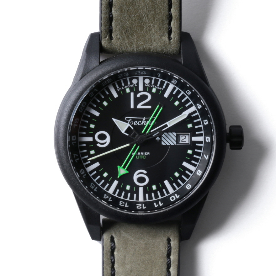Harrier 368 Carbon GMT - Cowhide Sand PVD