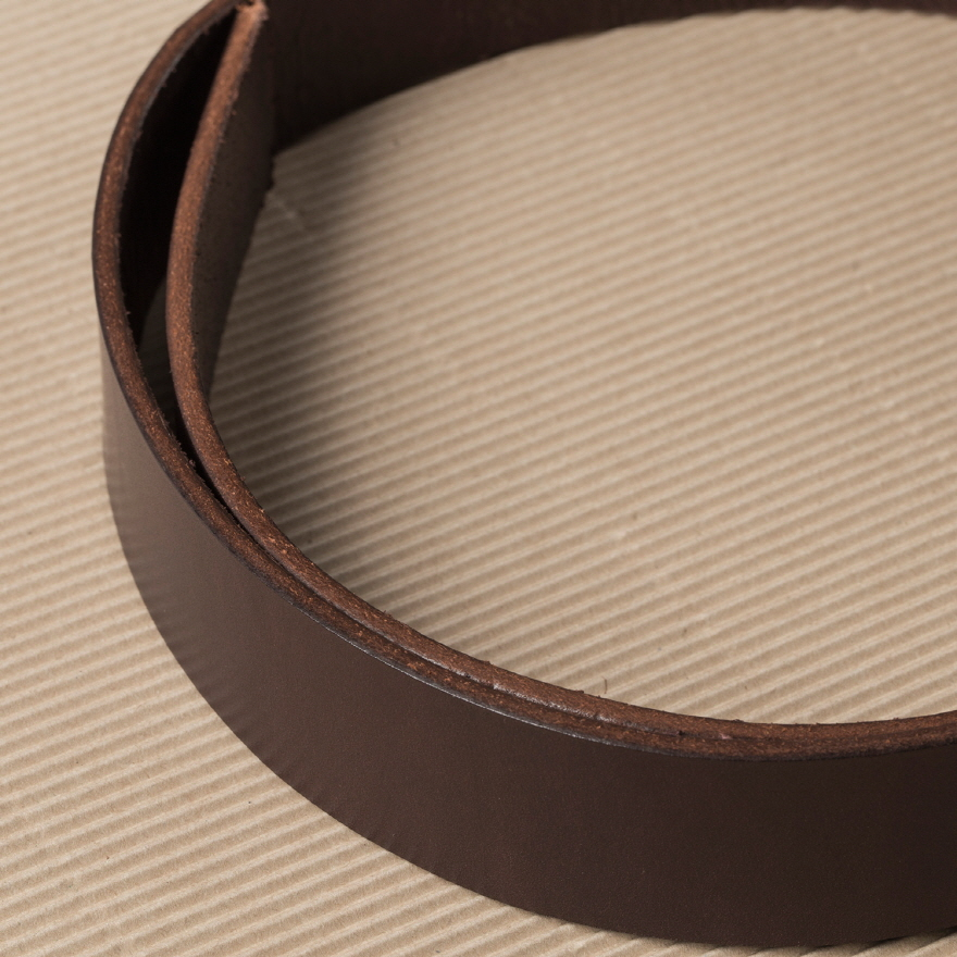No.1 Brass Belt - Brown