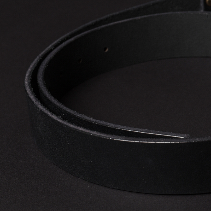 No.1 Brass Belt - Black