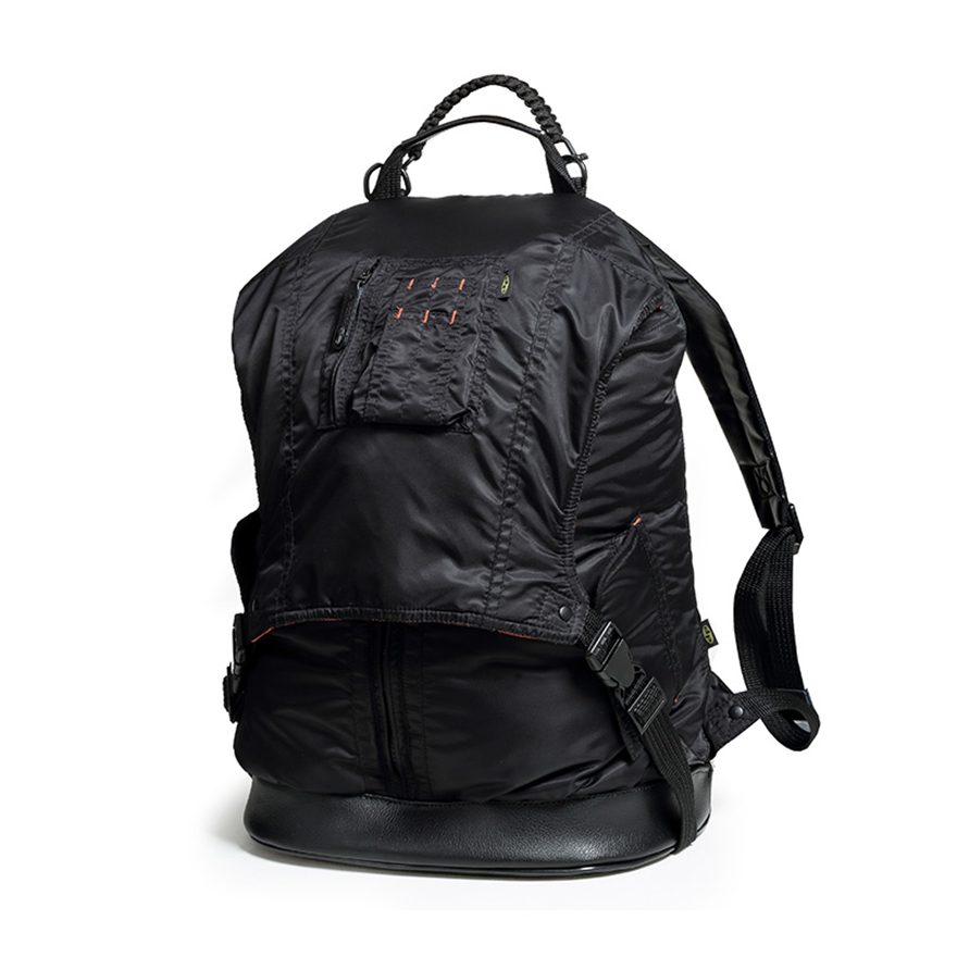 MA - 1 Jacket Backpack - Midnight Black
