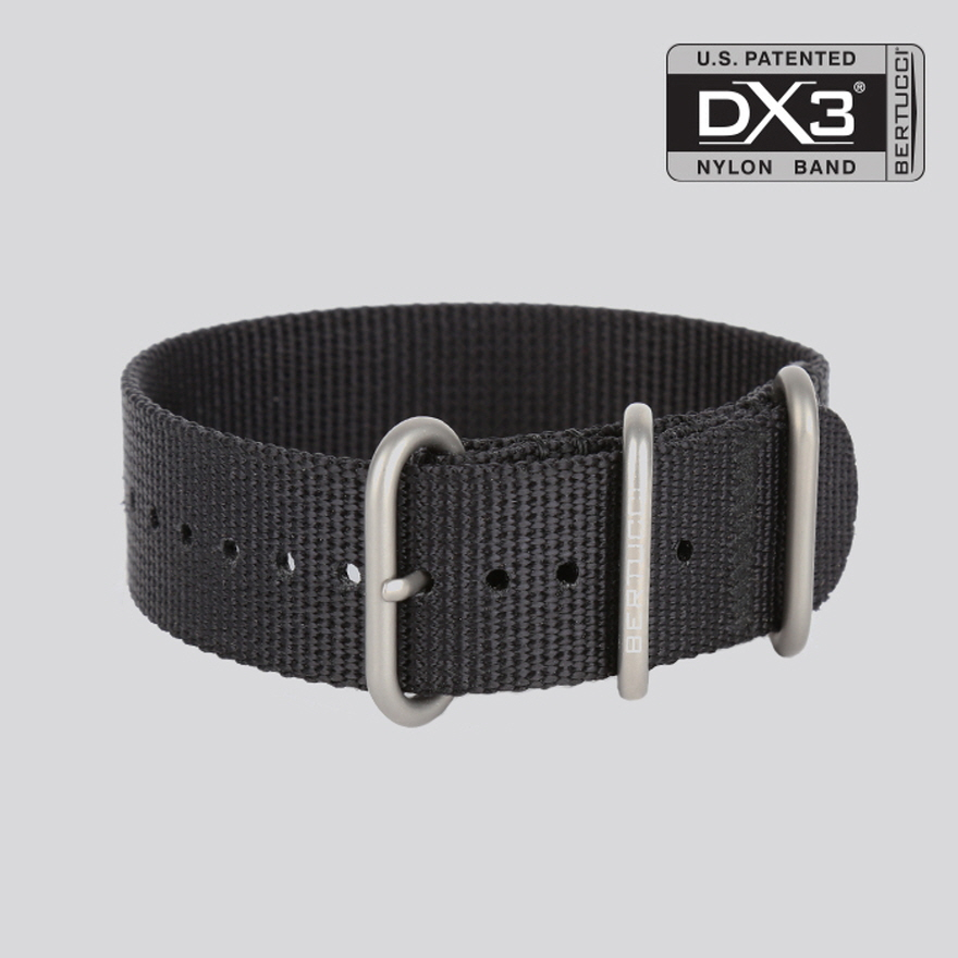 DX3 Nylon Band - #95 black