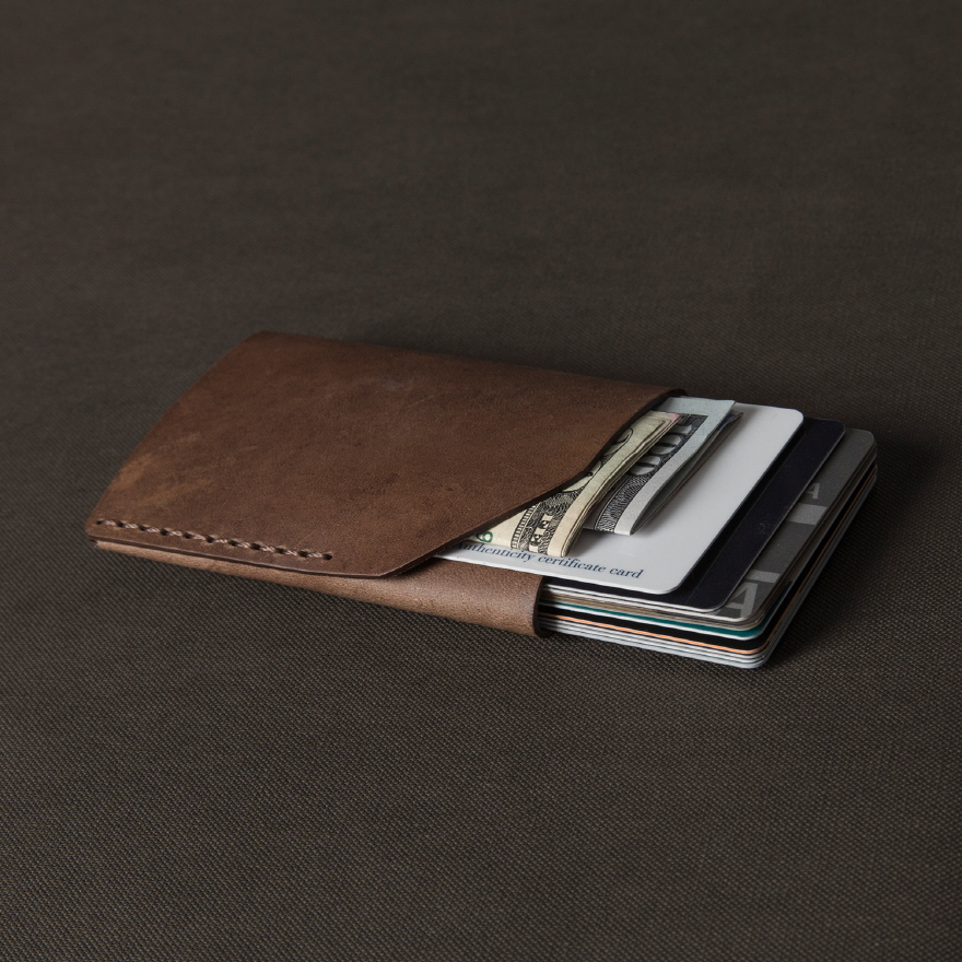 No.2 Wallet - Whiskey