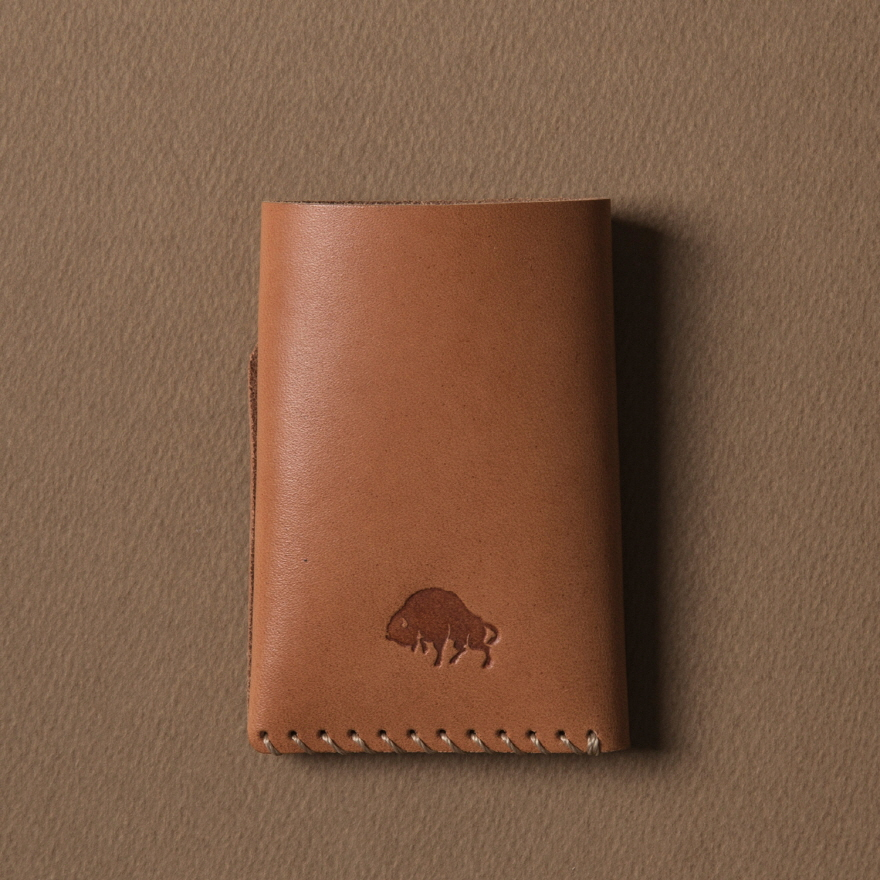 No.2 Wallet - Golden tan