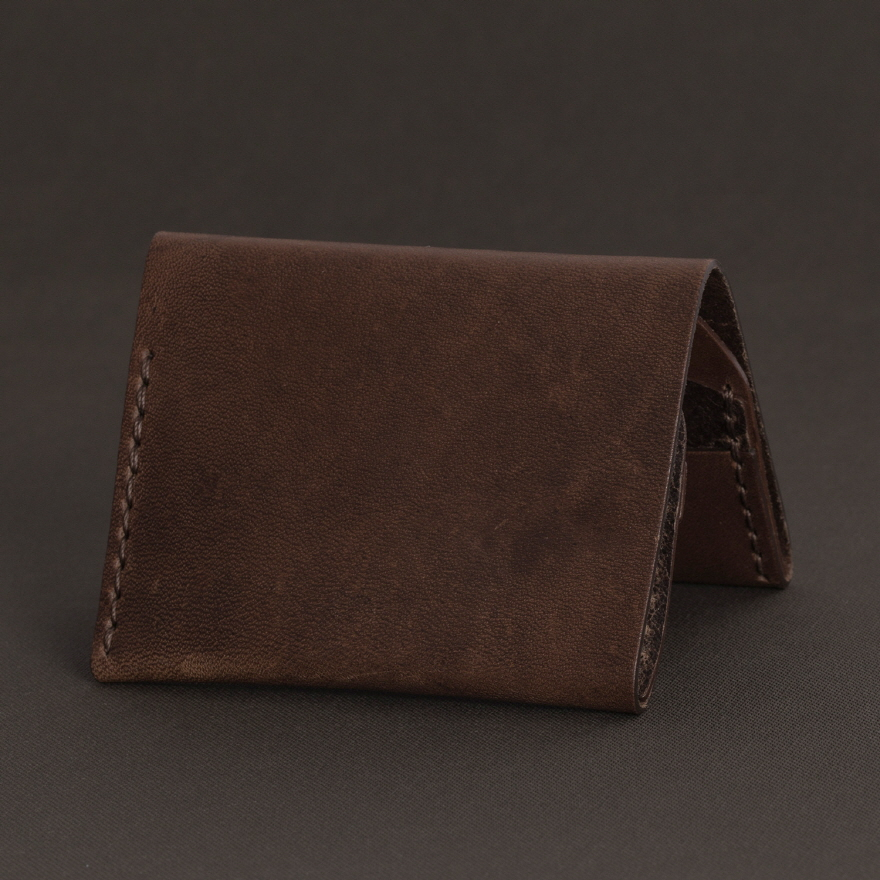 No.4 Wallet - Whiskey
