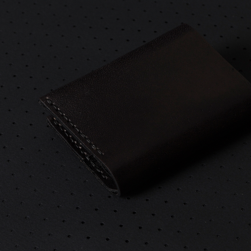 No.4 Wallet - Jet Black