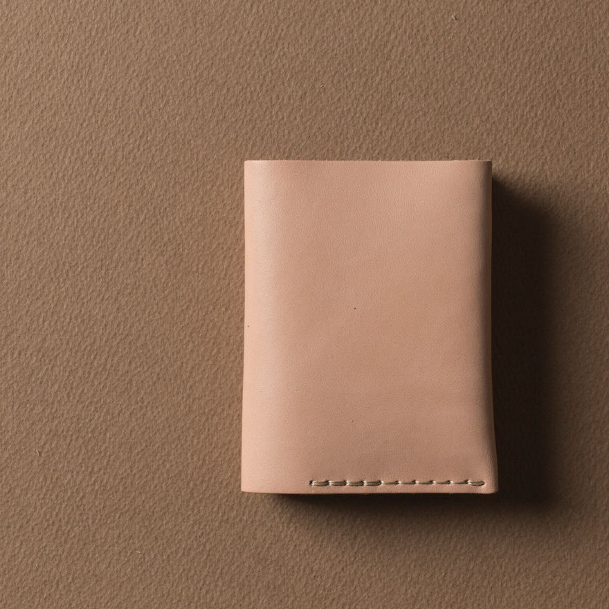 No.4 Wallet - Natural