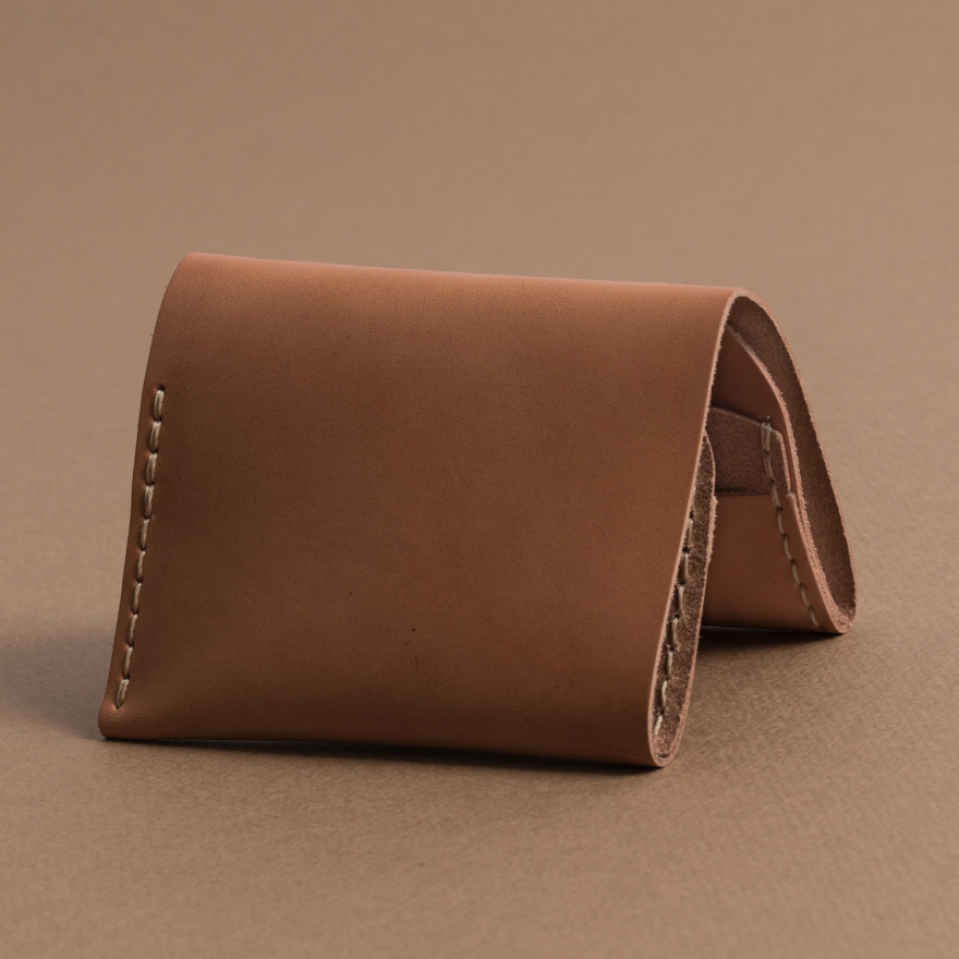 No.4 Wallet - Golden tan