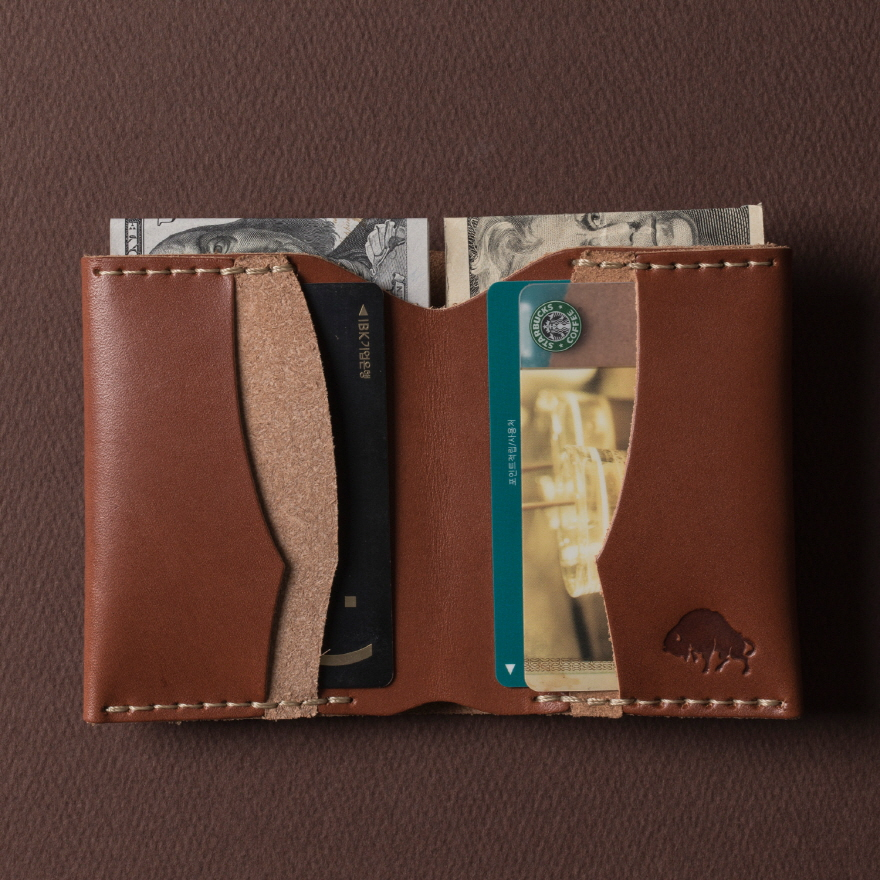 No.4 Wallet - Cognac