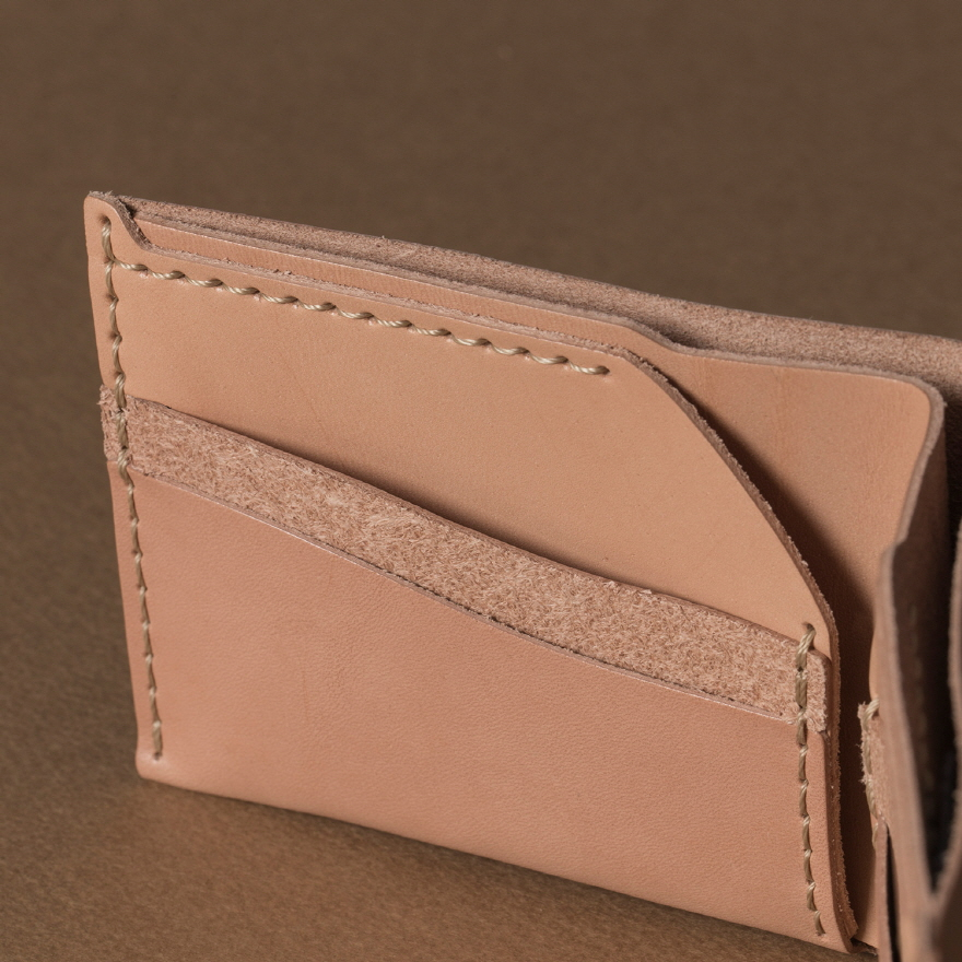 No.6 Wallet - Natural