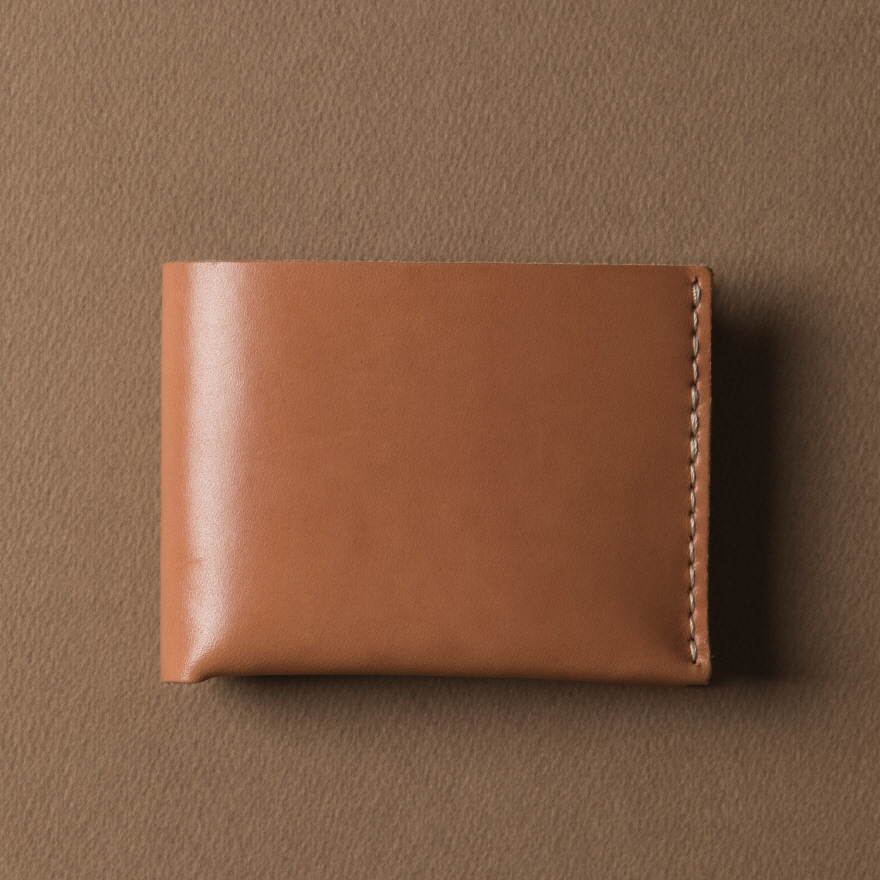 No.6 Wallet - Golden tan