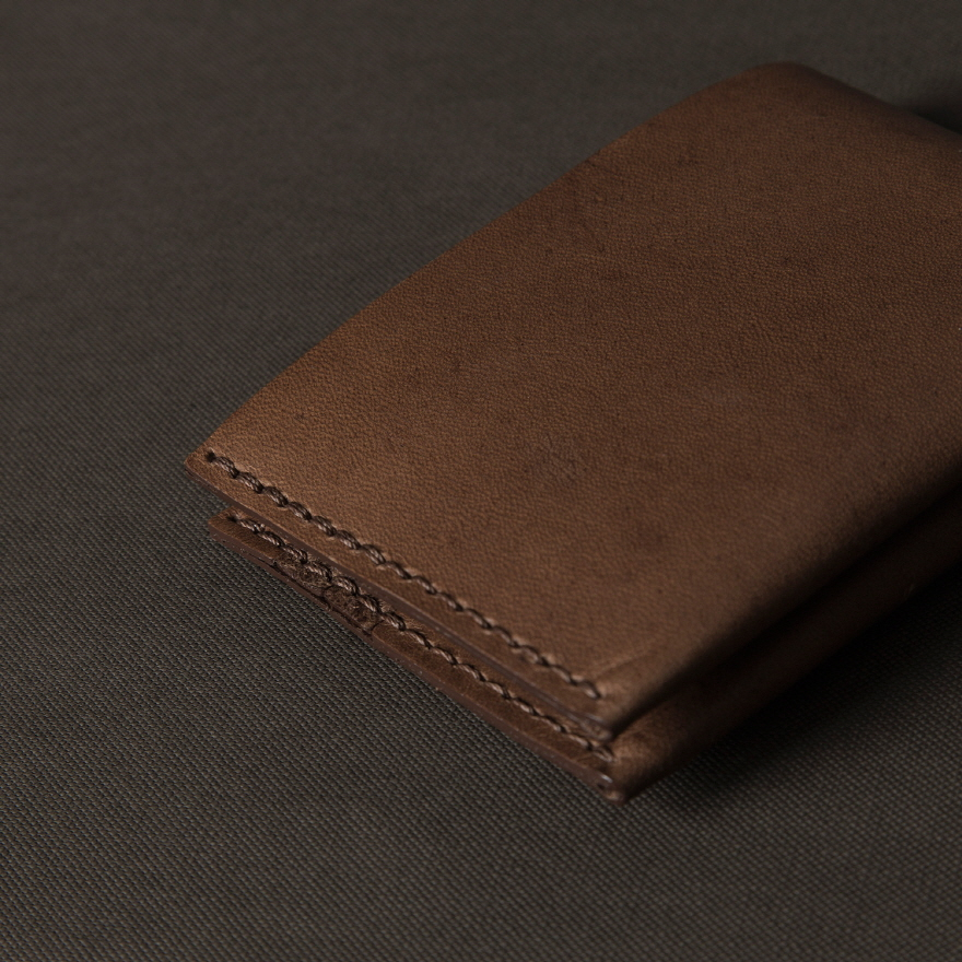 No.8 Wallet - Whiskey