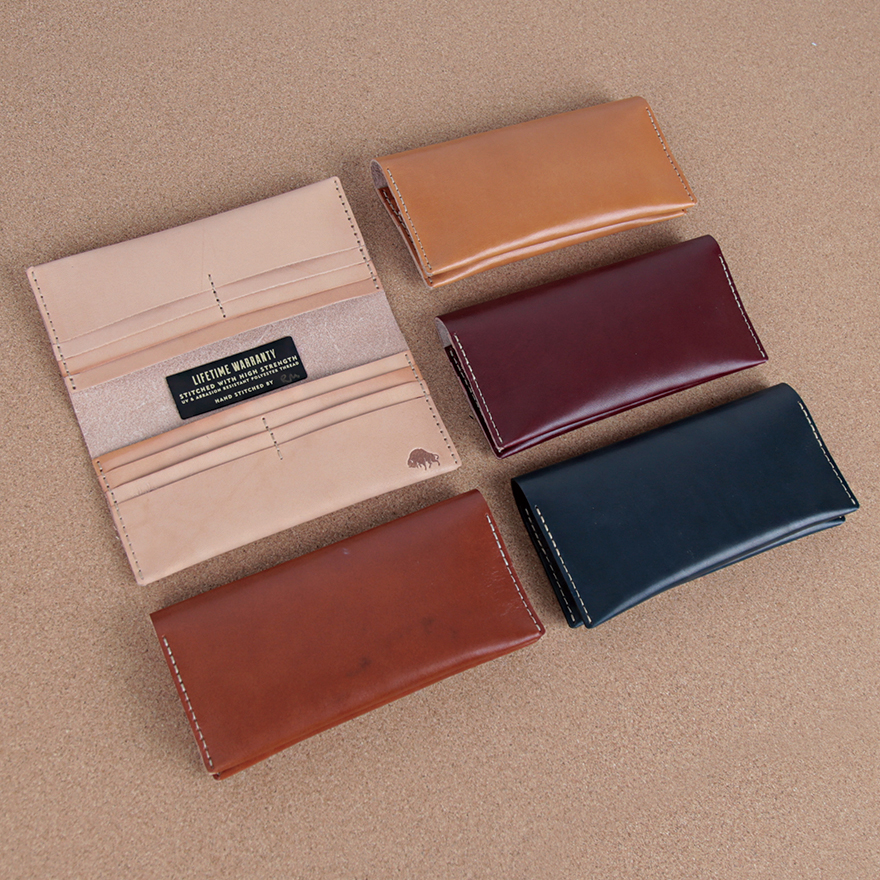 No.12 Wallet - Golden tan