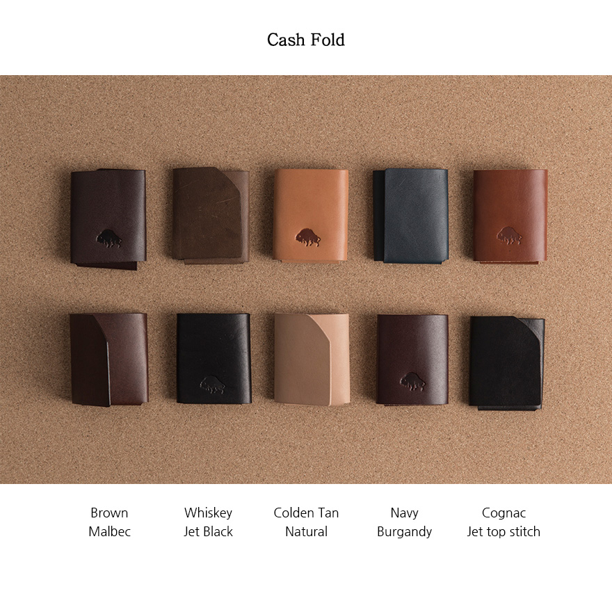 [SET] Cash Fold & No.2 Wallet