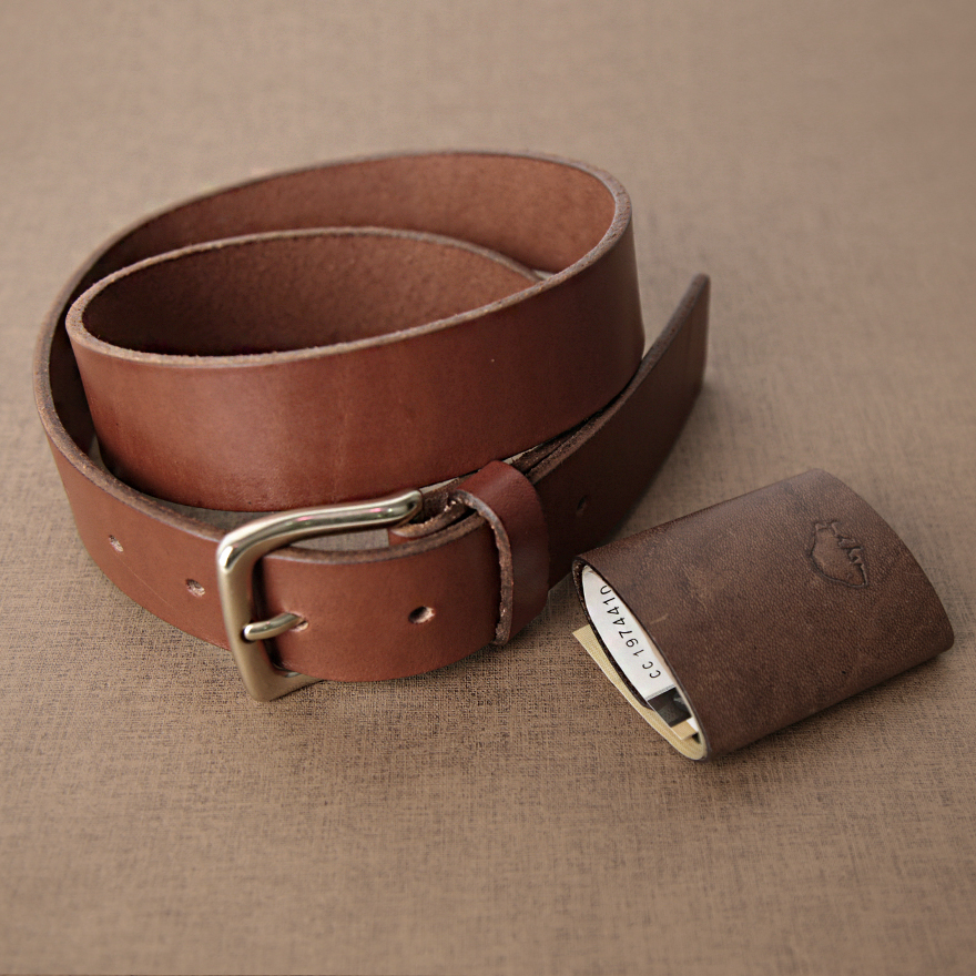 [SET] No.1 Brass Belt & Cash Fold