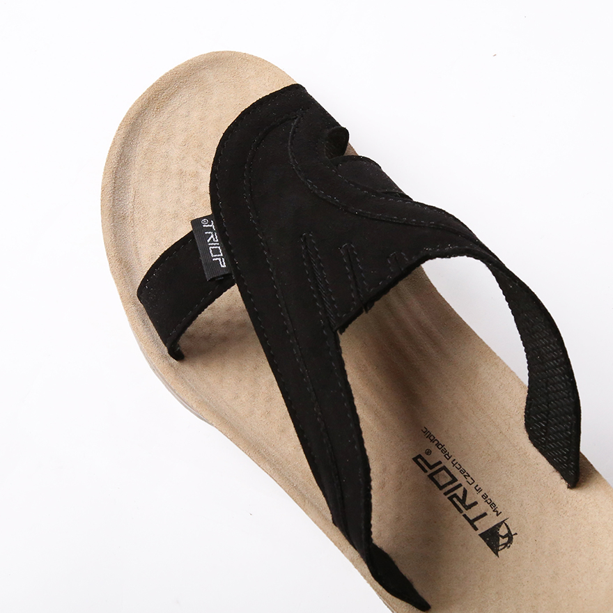 Terra Army Slipper - Black