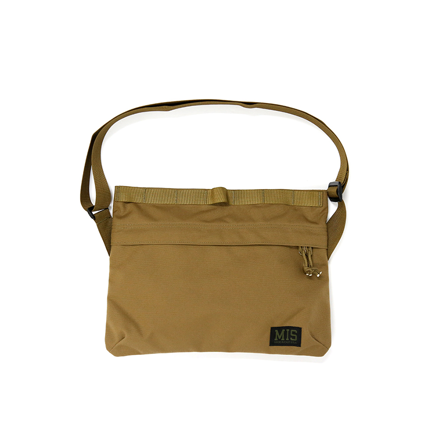 Padded Shoulder Bag - Coyote Brown
