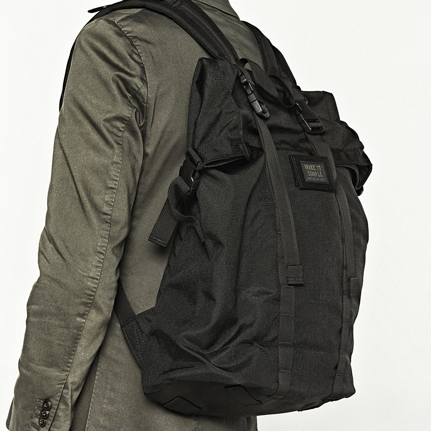 Roll Up Backpack - ABU Camo