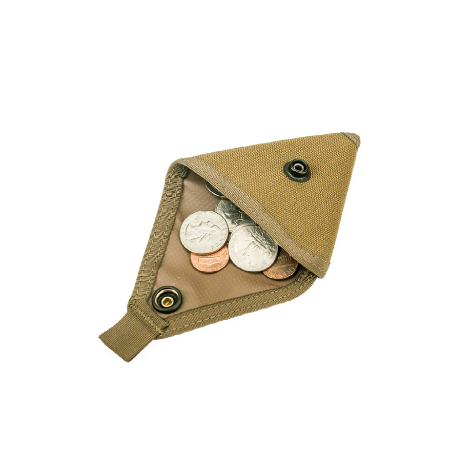 Coin Case - Coyote Brown