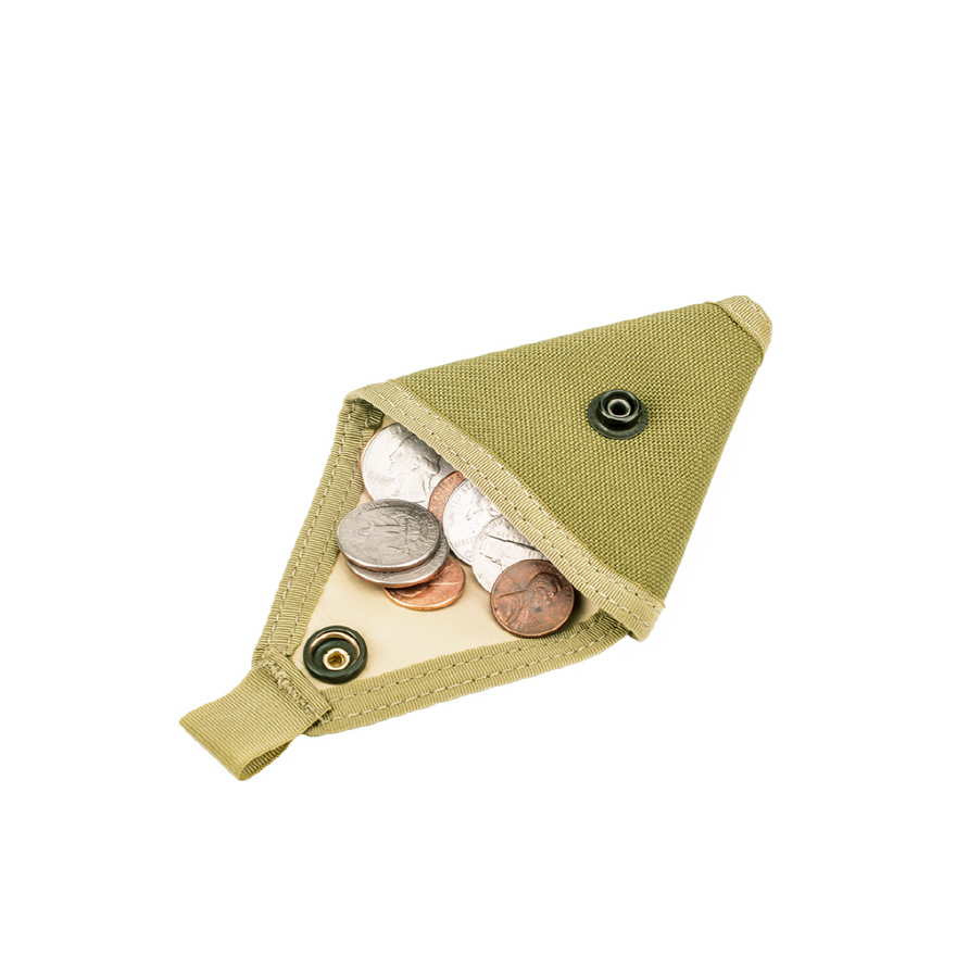 Coin Case - Coyote Tan