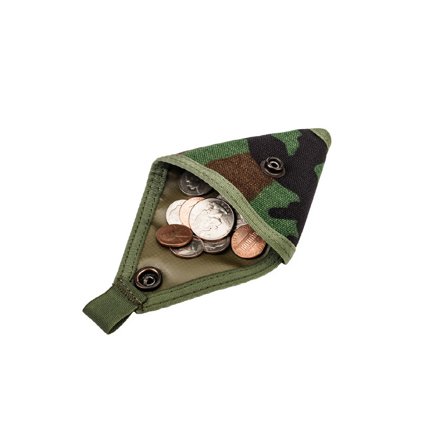 Coin Case - Woodland Camo
